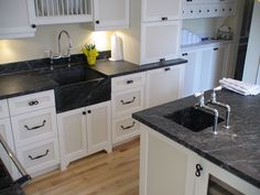 soapstone countertops | Soapstone kitchen countertops and sink