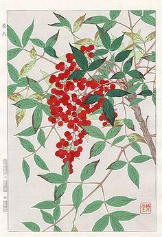 Седо Kawarazaki Весенний Цветок Гравюры