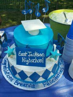Graduation cake June 2012
