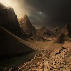 Karezoid Karcz Landscape, photo manipulations