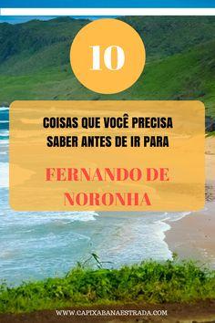 1 coisas que você precisa saber antes de ir para Fernando de Noronha.