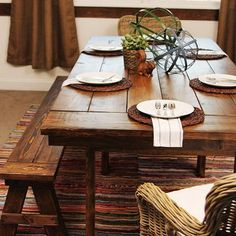 Build a Farmhouse table the easy way! This IKEA hack will blow your mind! Check out the full step-by-step tutorial from East Coast Creative Blog!