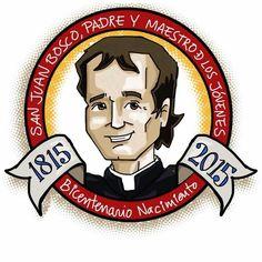 2015 bicentenario del nacimiento de a Don Bosco.