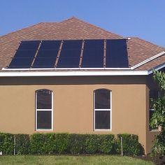 Solar Pool Heater On Tile Roof In Estero Fl Solar