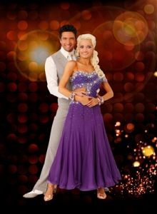 DWTS Season 8 Cast Celebrity Holly Madison and Professional Demitry Chaplin