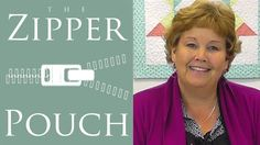 The Zipper Pouch: An Easy Quilting Project Tutorial by Jenny Doan of Missouri Star Quilt Company