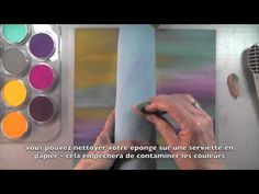 PanPastel Reversed Resist technique on Pastelbord: erst HG (auf grauem Pastelbord) gestalten, ggf. einz. Farbschichten fixieren, dann Blumen in Versamrk + farbig mit Pan Pastels ausarbeiten. Wenn die Farben sich nicht mischen sollen, immer zwischendurch fixieren!