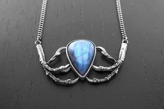 The Winds of Winter Necklace OOAK by charlotte burkhart of Little Sister Designs, $295.00