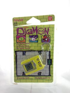 Tamagotchi Digital-Monster (Digimon) Digivice Jaune/Yellow