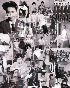 EXO Wolf Collage.