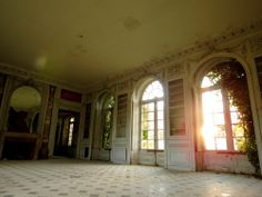- An abandoned house in France and so beautiful Abandoned Castles, Abandoned Mansions, Abandoned Buildings, Houses In France, France Europe, Sunroom, Backyard, Places, Photos