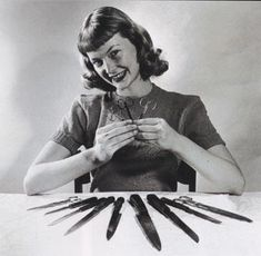 Here are some of the vintage short bang pictures I have collected from the 1950s. Some are U-bangs, rolled under, rolled up and side swept. All are fab but the first picture is my favorite. ;)