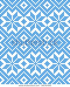 Embroidered Pattern On Transparent Background Stock Vector Illustratie 395767045 : Shutterstock Tapestry Crochet Patterns, Fair Isle Knitting Patterns, Knitting Charts, Weaving Patterns, Cross Stitching, Cross Stitch Embroidery, Embroidery Patterns, Cross Stitch Designs, Cross Stitch Patterns