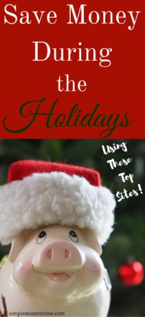Save money during the holidays using these sites!