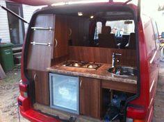 Cool van kitchen!