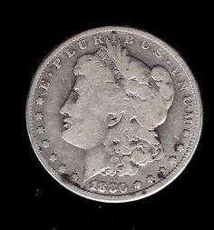 1880-CC Morgan Silver Dollar VG Uncertified