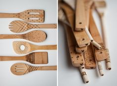 Make It: DIY Engraved Wooden Spoons » Curbly   DIY Design Community