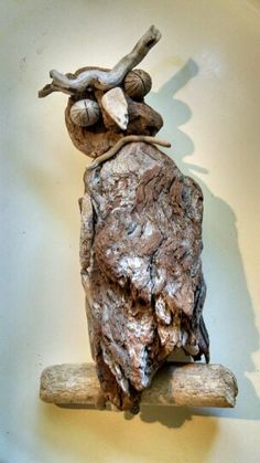 Driftwood Owl - pacificdriftwoodcreations