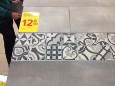 Déco carrelage aspect carreaux ciment revisités ABK Docks, Carrelages du Marais…