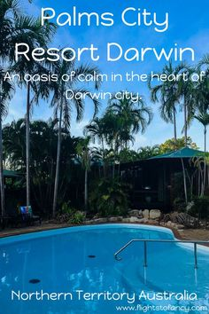 Palms City Resort Darwin is an oasis of calm in the heart of Darwin's CBD. Start your search for self-contained accomodation in Darwin here! Visit Australia, Australia Travel, Darwin Australia, Best Travel Guides, Travel Advice, Travel Tips, Travel Ideas, City Resort, Melbourne Travel