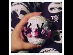 Crochet Butterfly Easter Egg - Dearest Debi Patterns