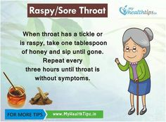 Raspy /sore throat