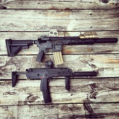 HK416 & MP7