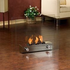 Southern Enterprises Loft Portable Indoor/Outdoor Fireplace Add it to your wishlist at yourwishfromme.com