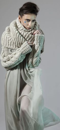 MINTY | Designer Fall Winter, Autumn, Knitting Accessories, Urban Fashion, Fashion Fashion, Winter Outfits, Winter Clothes, Style Me, Knitwear