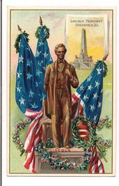 Lincoln Monument Springfield Ill  1910