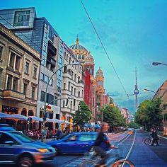 Oranienburger Straße in Berlin, Berlin