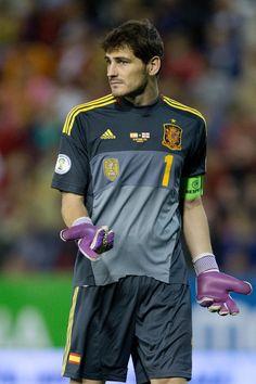 Iker Casillas - Spain v Georgia