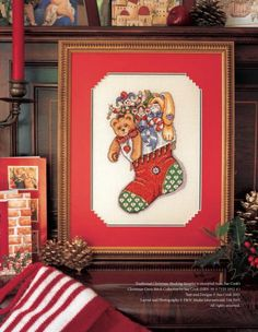 Full of Christmas Cheer The World of Cross Stitching Issue 103 November 2005 Saved