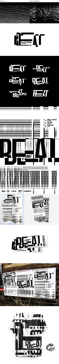 Beat Festival | Brand identity on Behance