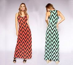 Win Today's Giveaway of the Day - Chevron Racerback Maxi Dress - Drawing 5/9/15 @ 3PM EST
