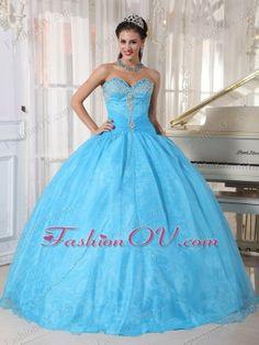 Appliques Sweet 16 Dresses