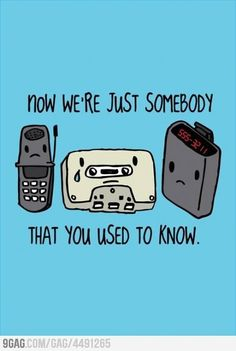 technology that you use to know #geek #technology  - RIP Flip Phone