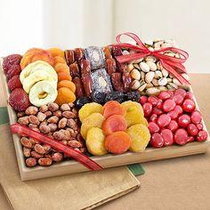 Santa Cruz Extravagance Dried Fruits and Nuts Tray - CFG8018