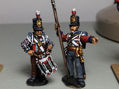 28mm British Foot Guards, painted by Paul Downton