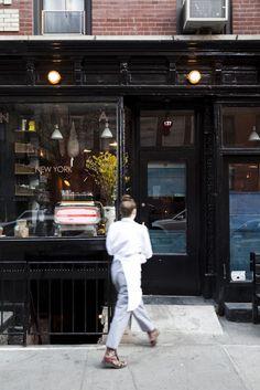 Navy Restaurant in NYC, Photograph by Nicole Franzen   Remodelista
