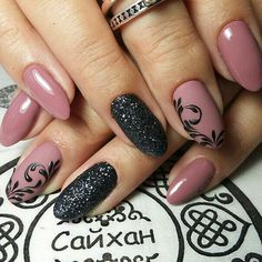 80 Classy Nail Designs To Fall In Love Nageldesign Elegant Nail Art, Elegant Nail Designs, Trendy Nail Art, Cute Nail Designs, Diy Nails, Cute Nails, Nagellack Design, Luxury Nails, Classy Nails