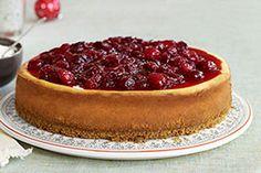 Cranberry-Cinnamon Cheesecake