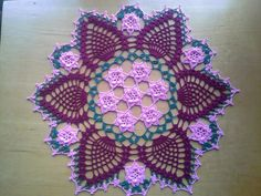 Rose Garden Doily by koepr5333.deviantart.com on @deviantART