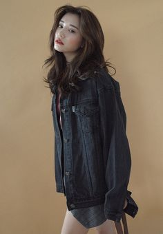[Stylenanda] Loose Denim Jacket