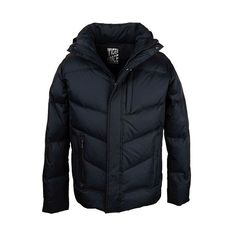 Hot Sale Men White Duck Down Jacket Winter Down Coat With Hood Solid Zipper Free Shipping D-265