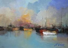"""Saatchi Art Artist Andres Vivo; Painting, """"4173  At the mouth"""" #art"""