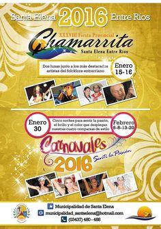 15 y 16 Enero Santa Elena - Fiesta de la Chamarrita 2016 | Region Litoral