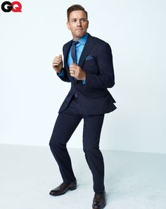 Ewan McGregor suits up for GQ.