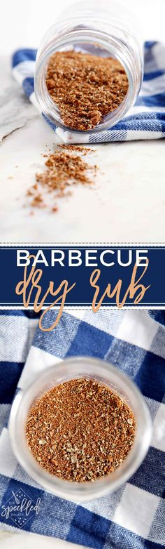 Barbecue season is upon us, so prepare to fire up your grills and smokers! And prepare for the season by mixing up a batch of homemade Barbecue Dry Rub. via @speckledpalate