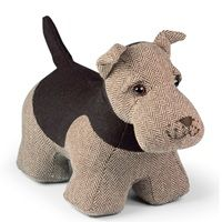 ARCHIE AIREDALE TERRIER Dog Animal Doorstop by Dora Designs | Dog Doorstop | Terrier Doorstop